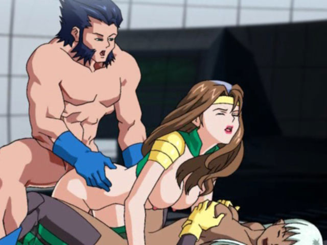 Hentai gratuit : Nippones animes se font troncher - Film x